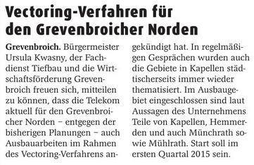 Erft-Kurier Vectoring 20141210