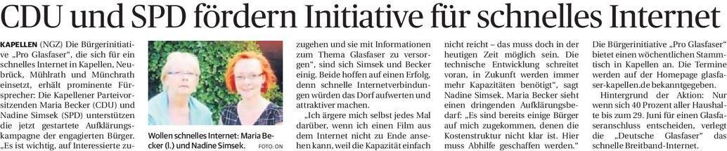 NGZ 2150612 Kapellen CDU und SPD