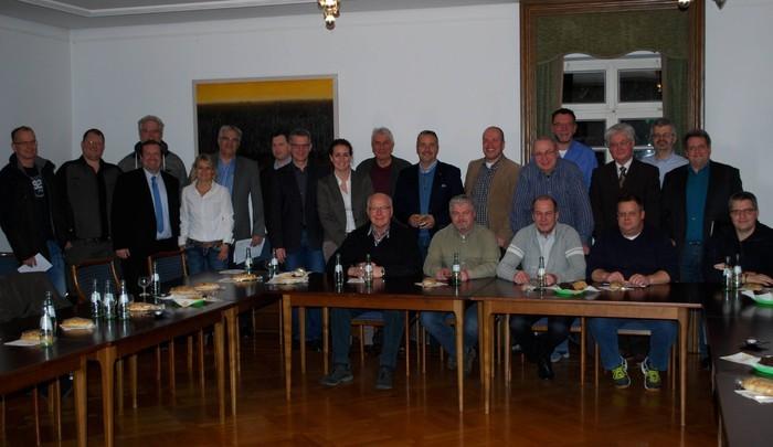 Zum Treffen mit Bürgermeister Klaus Krützen kamen zahlreiche Vertreter der Grevenbroicher Vereine.
